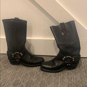 Frye western/Moto boots